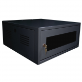 Mini Rack 6U 470mm Preto - IP Service